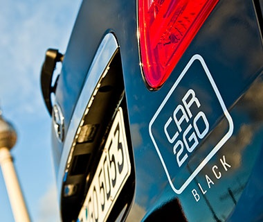 Car2Go Black: Car Sharing Challenges Auto Rentals