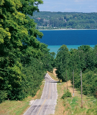 Leelanau Peninsula Wine Trail, Michigan