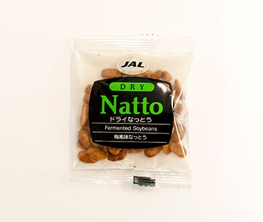 Dried Natto, Japan Airlines