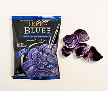 Terra Blues Potato Chips, JetBlue