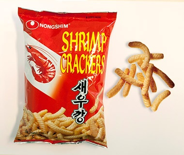 Nongshim Shrimp Crackers, Korean Air