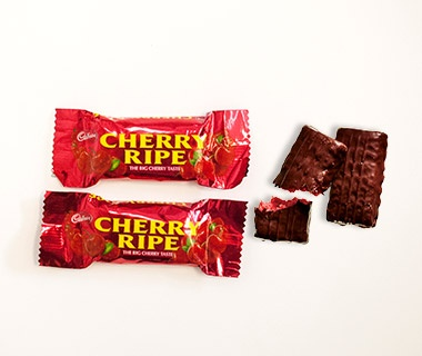 Cherry Ripe Chocolate Bars, Virgin Australia