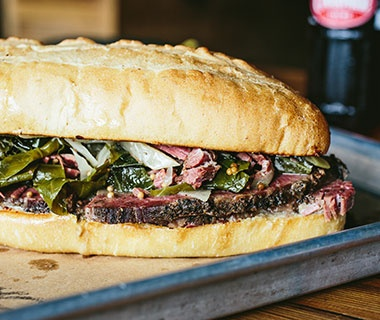 The Pastrami Sandwich: Butcher & Bee, Charleston, SC