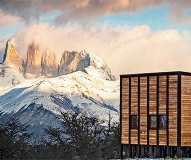 mountain views in Patagonia, Chile