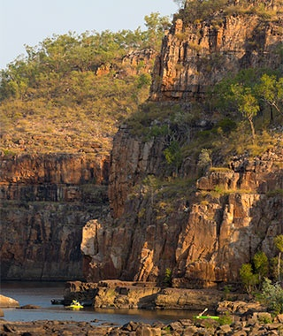 sandstone canyons of Nitmiluk National Park in Northern Territory, Australia