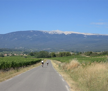cycling in the Franch county-side