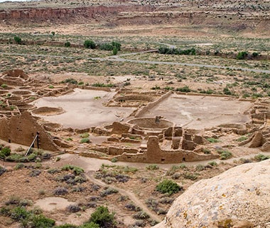 ancient ruins in Arizona and New Mexico