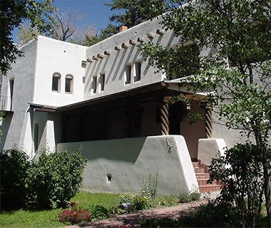 Taos Art Museum at Fechin House, NM