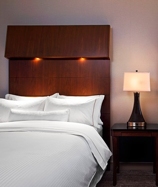bed at the The Westin New York Grand Central in New York City, NY