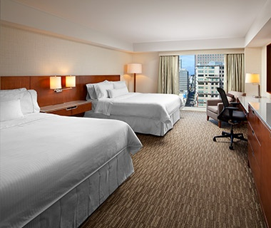 hotel beds at The Westin San Francisco Market Street, CA