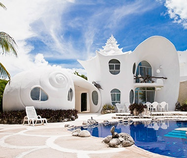 The Seashell House, Isla Mujeres, Mexico