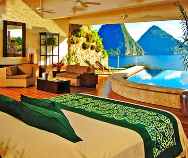No. 40 Jade Mountain, St. Lucia