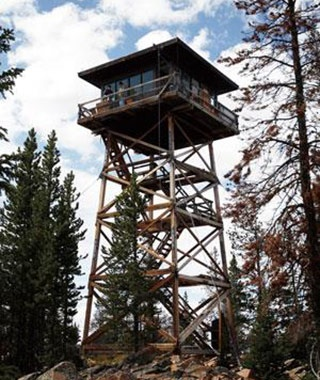 Spruce Mountain Fire Lookout, WY