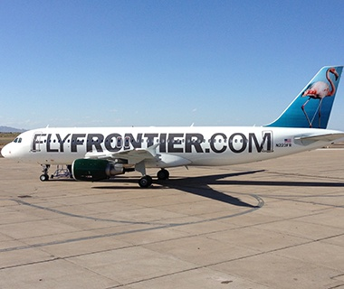No. 9 Frontier Airlines