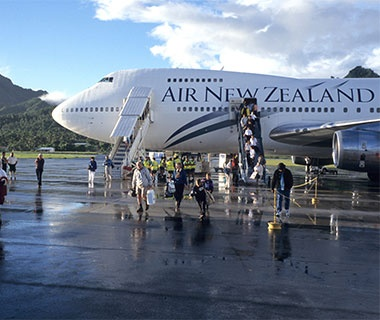 No. 7 Air New Zealand
