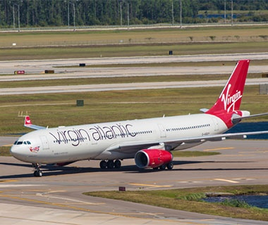 No. 2 Virgin Atlantic Airways