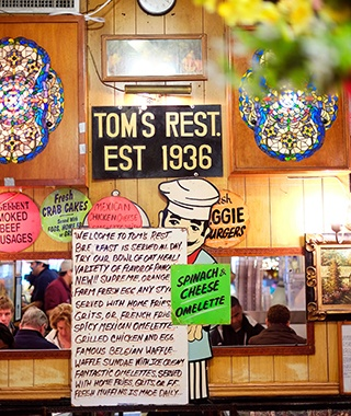 Tom's Restaurant, Brooklyn, NY