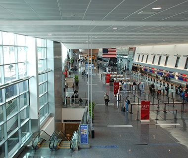 Best: No. 7 Boston Logan International Airport (BOS)
