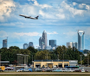 Best: No. 9 Charlotte Douglas International Airport (CLT)