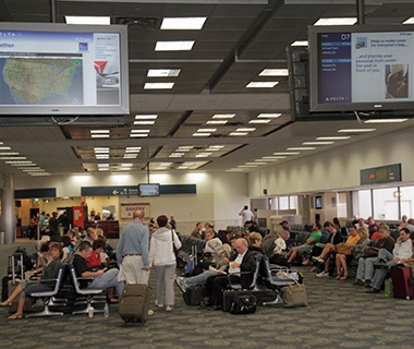Worst: No. 7 Fort Lauderdale–Hollywood International Airport (FLL)