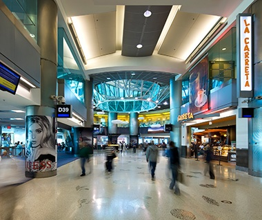 Best: No. 8 Miami International Airport (MIA)
