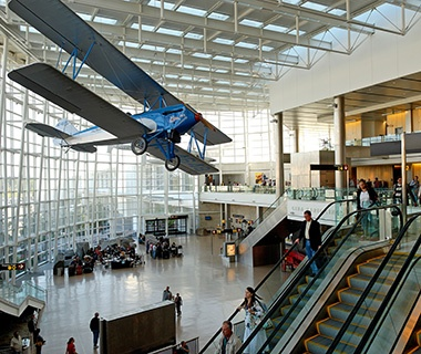 Best: No. 3 (tie) Seattle-Tacoma International Airport (SEA)