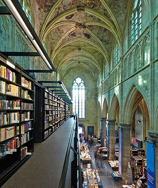 Dominicanen Bookstore, Maastricht, Holland