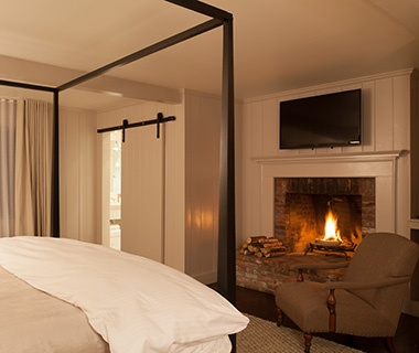 Most Romantic Hotel Fireplaces   Travel + Leisure