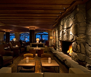 hotels with a fireplace in room. The Alpina Gstaad  Switzerland Most Romantic Hotel Fireplaces Travel Leisure