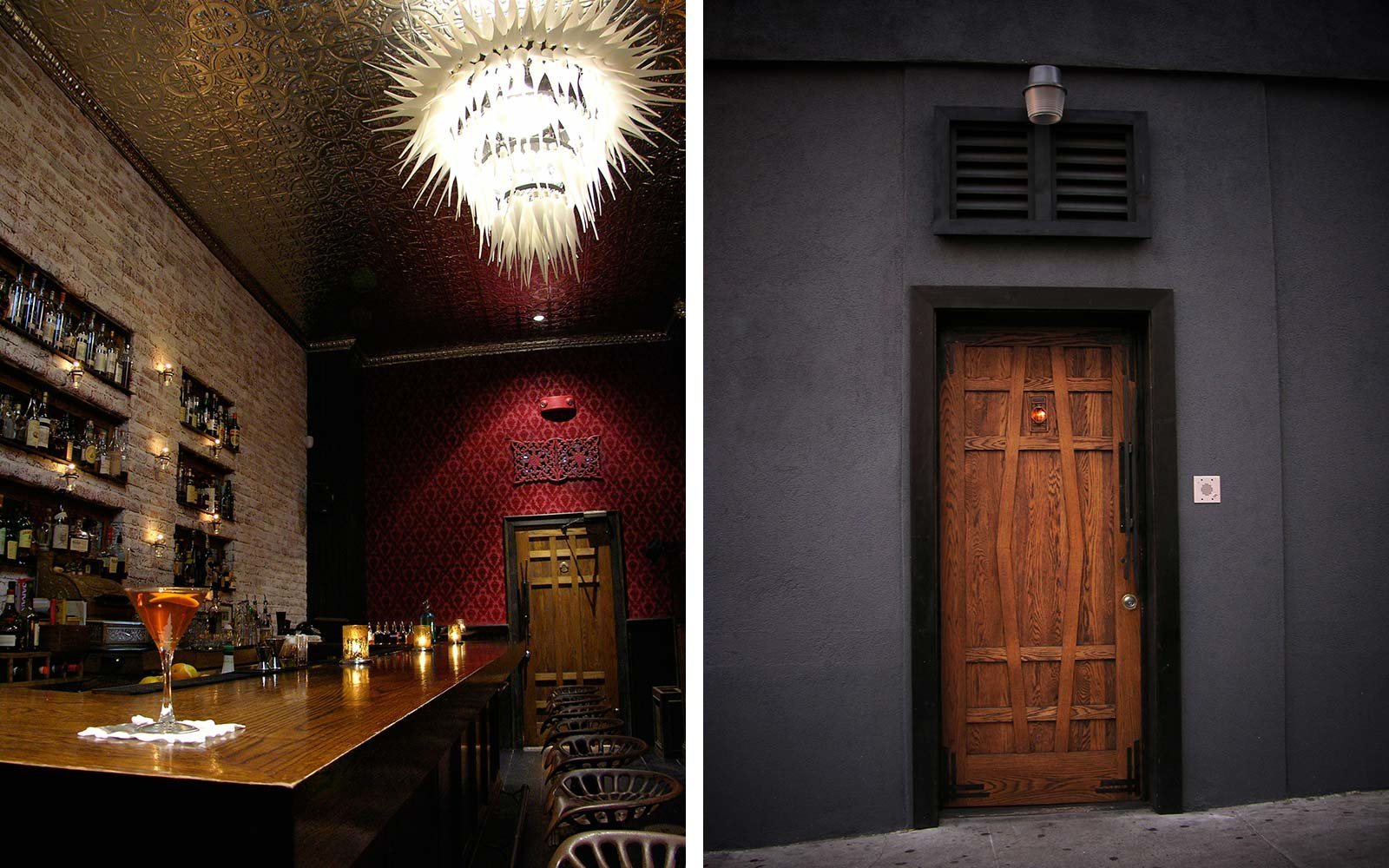 Hidden Secret Bars Around the World Ipswitch Bourbon and Branch San Francisco California
