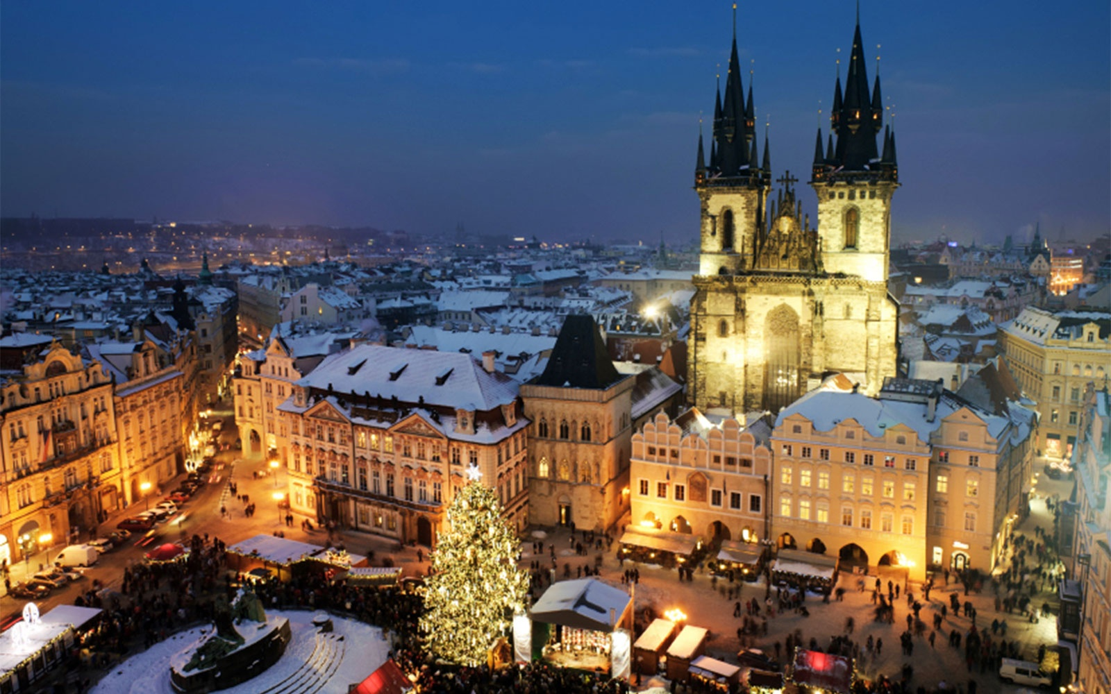 christmas vacations in prague czech republic