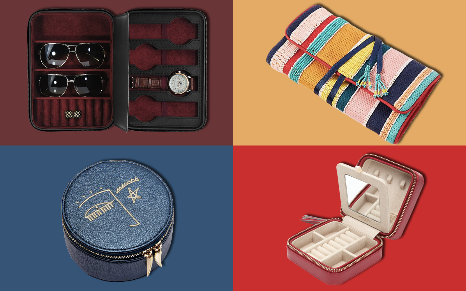 The 14 Best Travel Jewelry Cases for Your Next Trip | Travel + Leisure