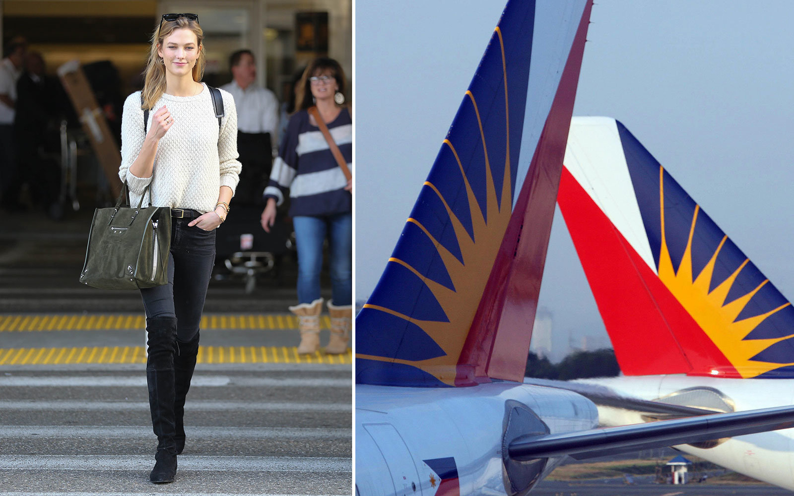 Karlie Kloss slams Philippine Airlines