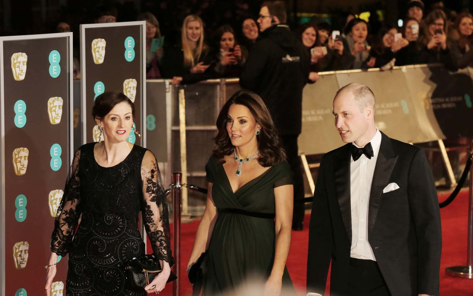 kate middleton bafta dress