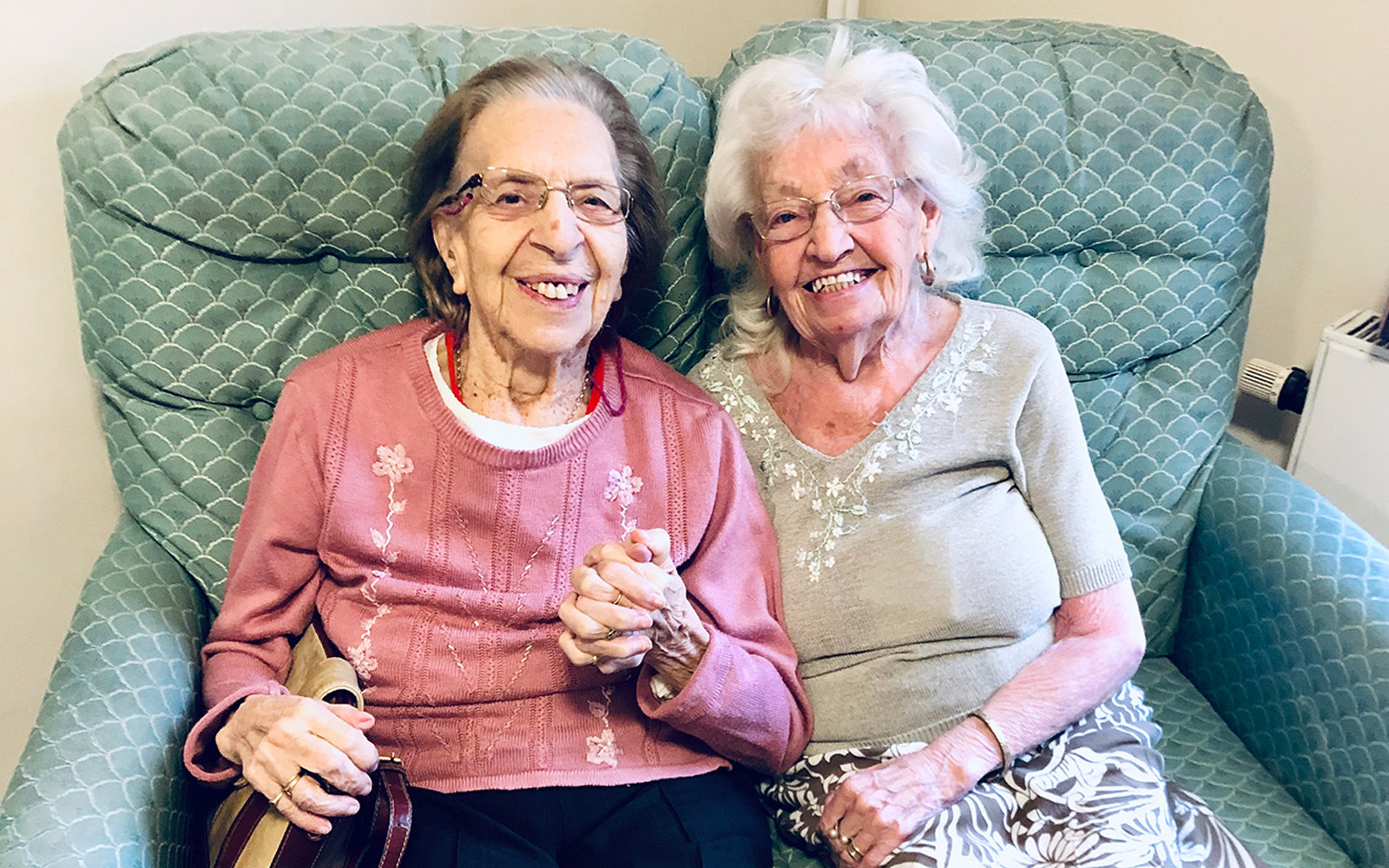 89-year-old women who have been best Friends since age 11 move to same elderly home