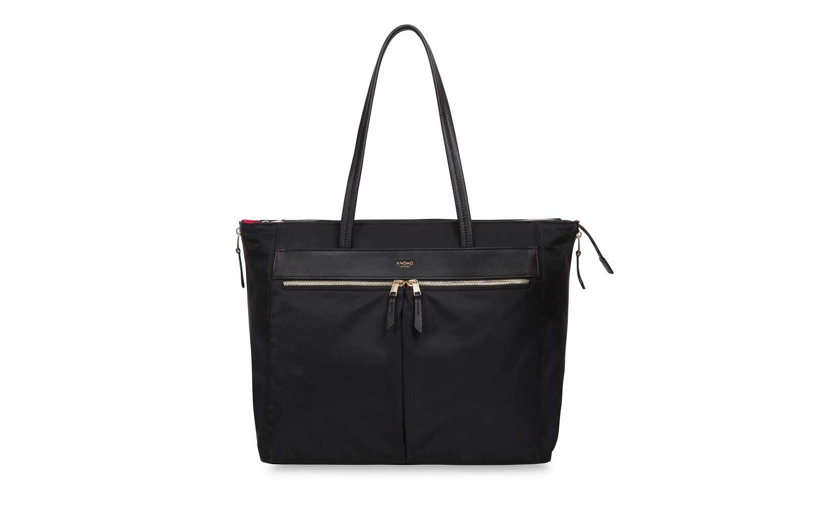 7b4b41d7ac The Laptop Lugger  Knomo Grosvenor Place Expandable Laptop Tote Bag. Knomo  nylon shoulder bags