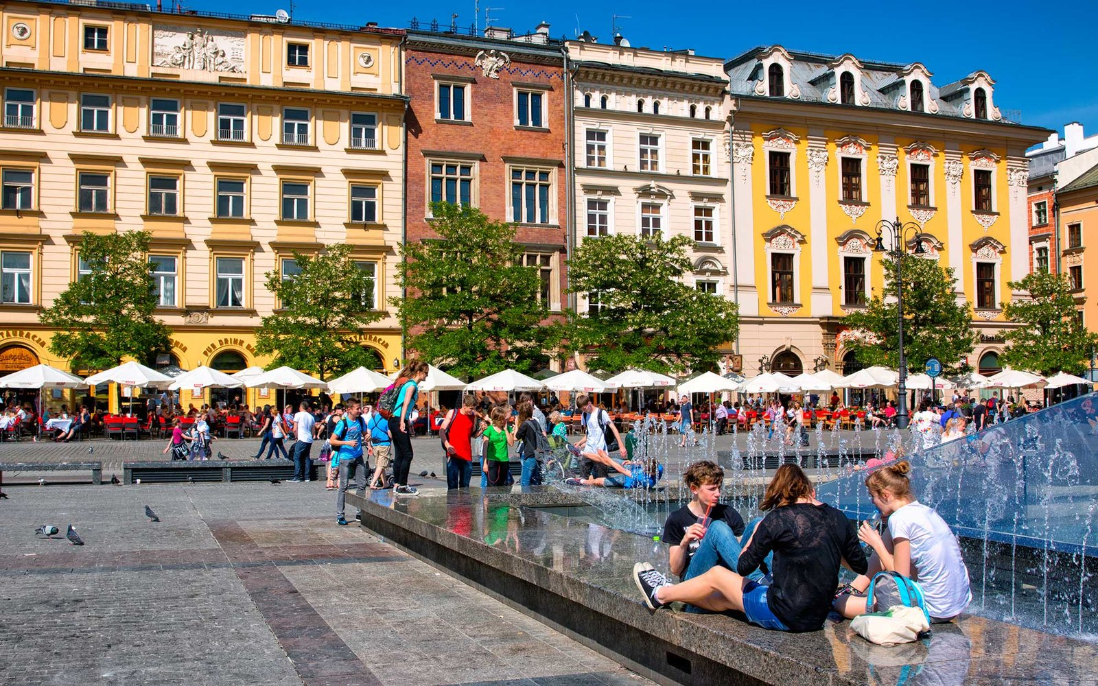 krakow city center