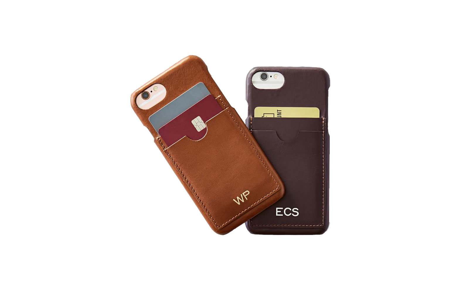Leather Iphone Case With Cardholder