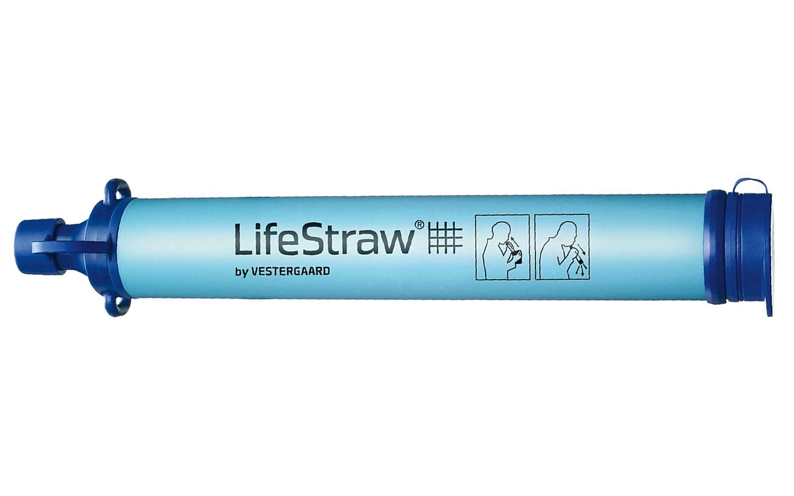 Personal water filer by Lifestraw