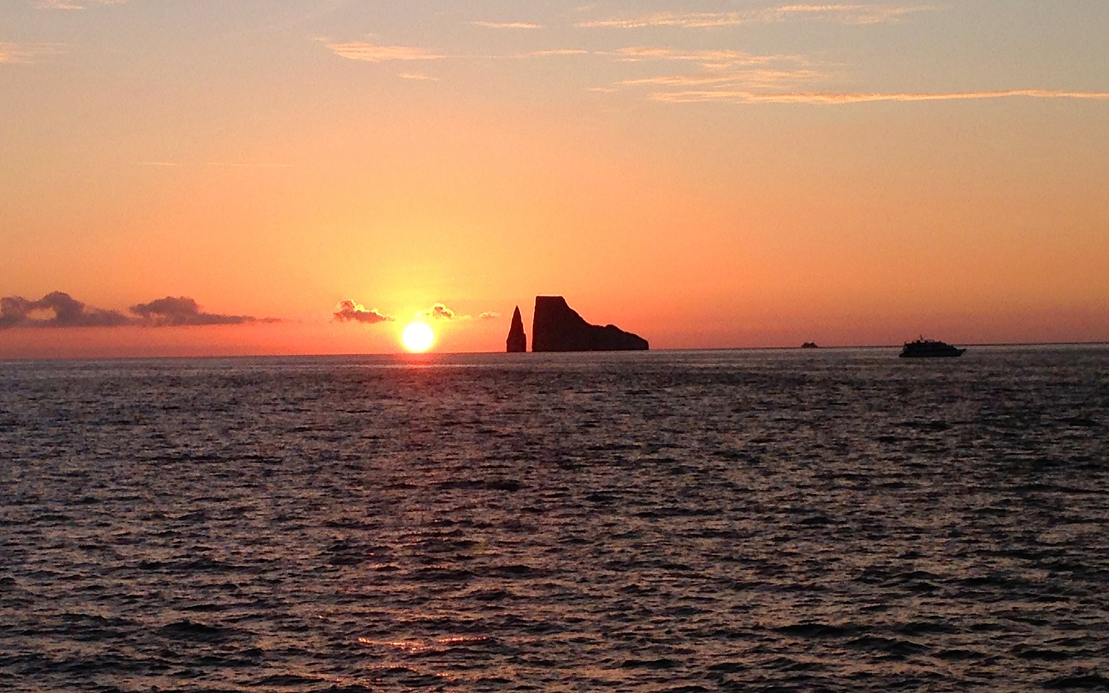 Green Flash in Ecuador's Galapagos Islands