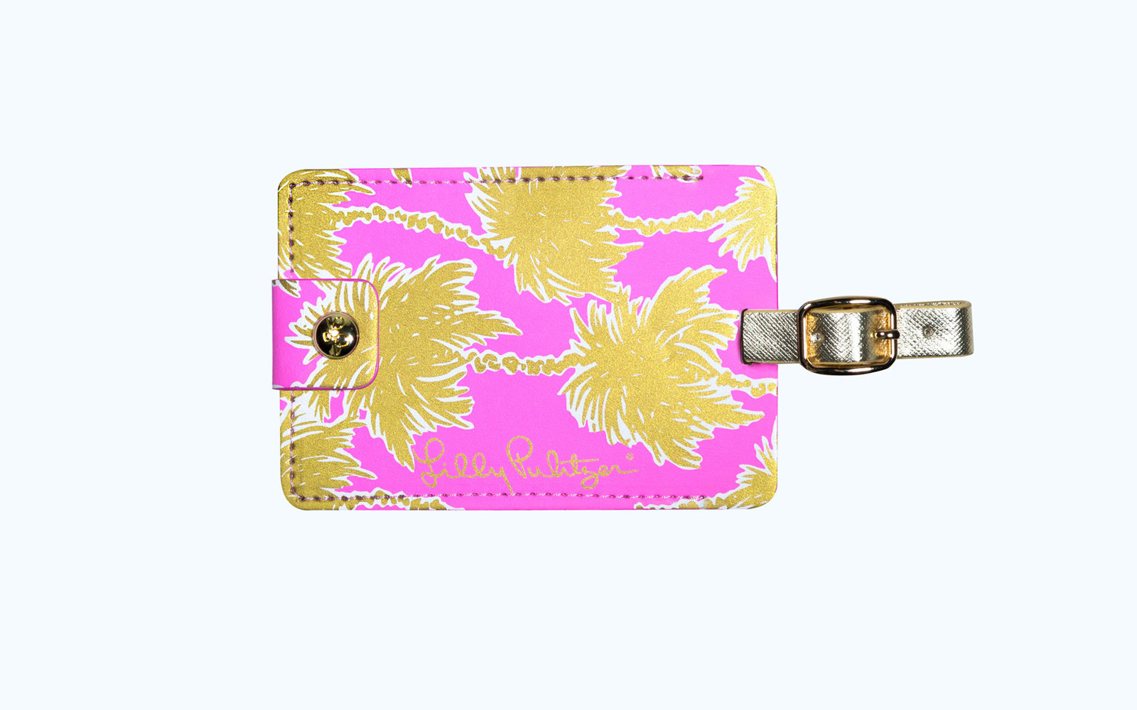 cute lilly pulitzer luggage tag