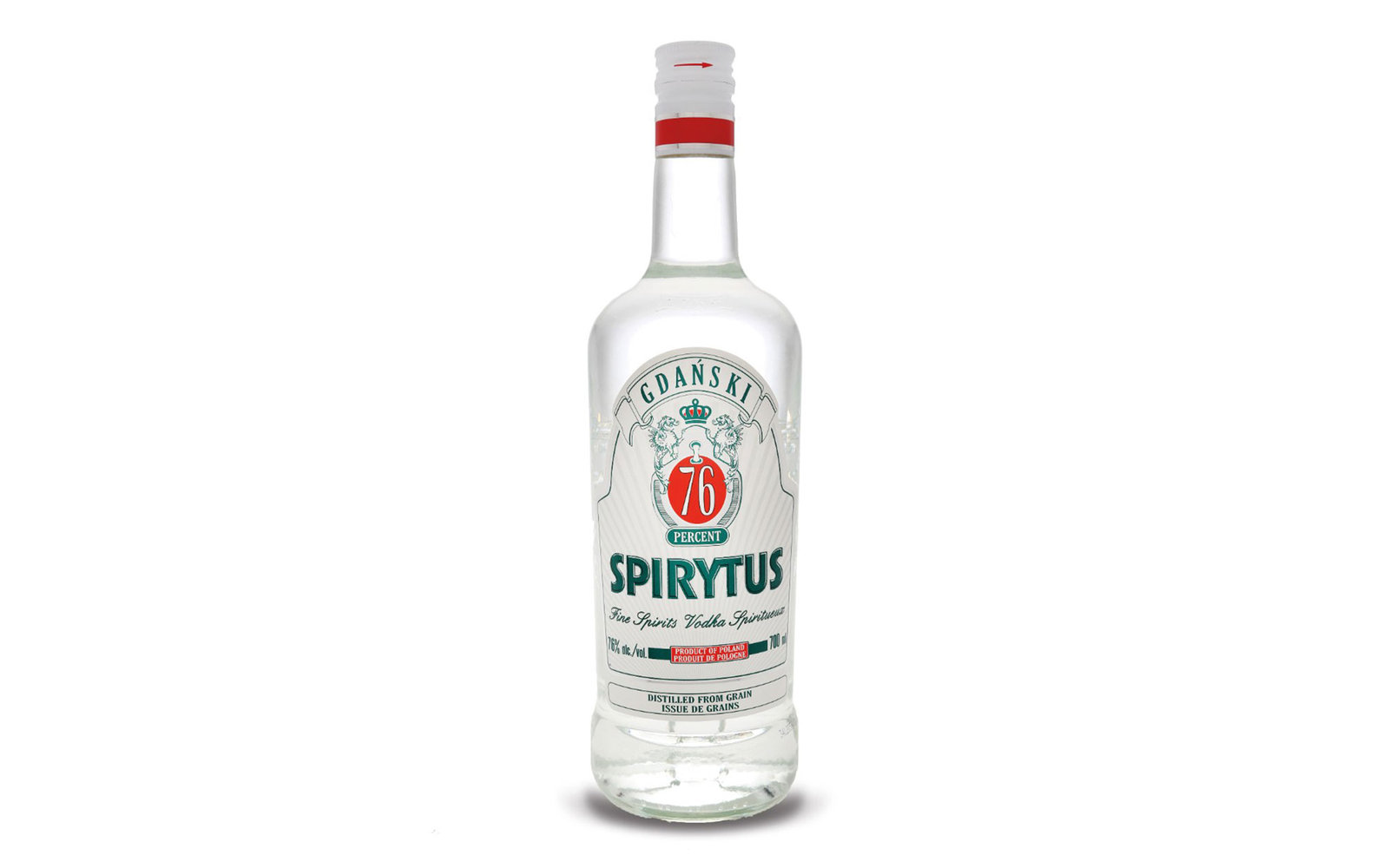 strongest vodka Spirytus