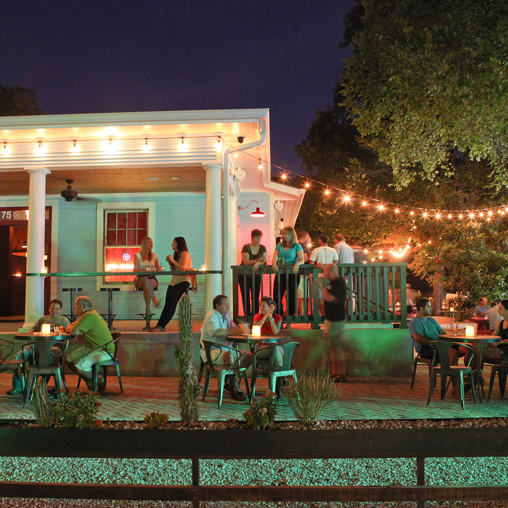 Austin S Best Outdoor Bars Travel Leisure