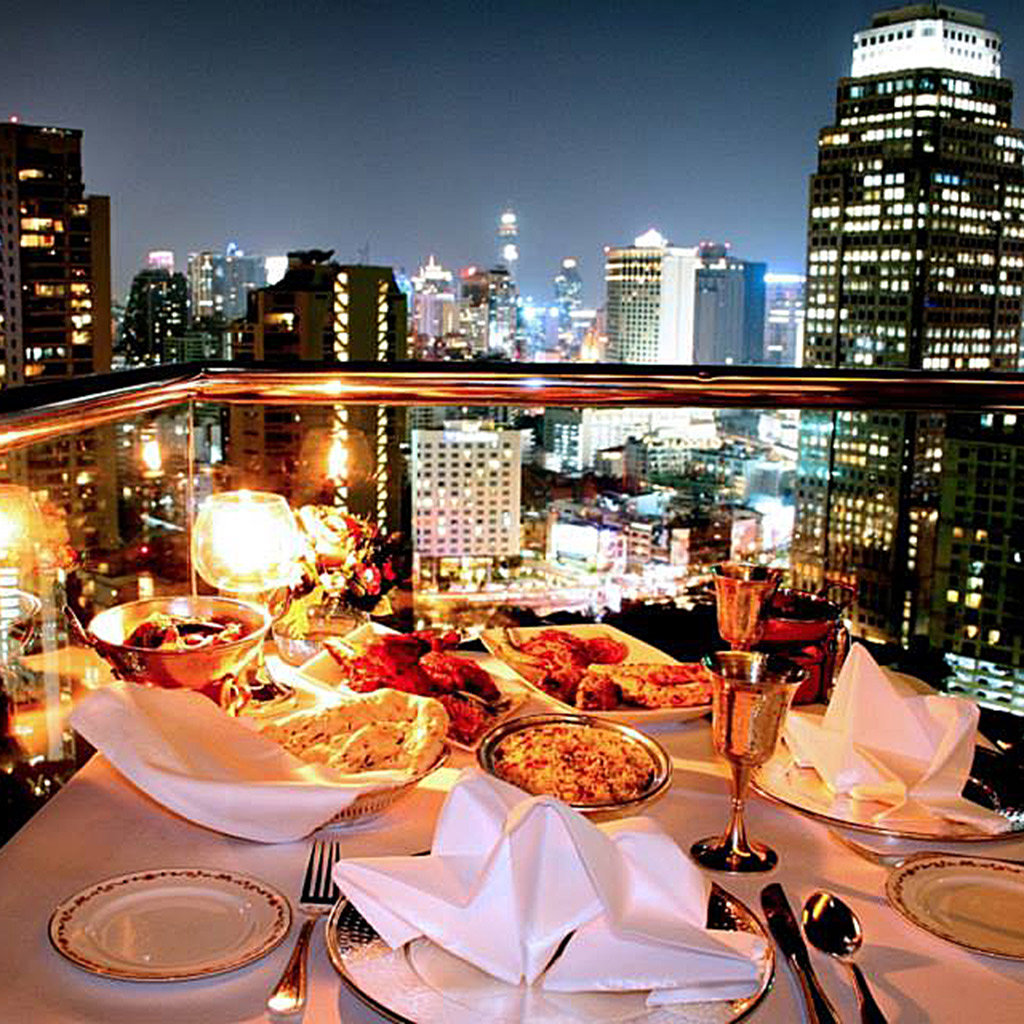 Most romantic restaurants in bangkok travel leisure for Romantic restaurants in california