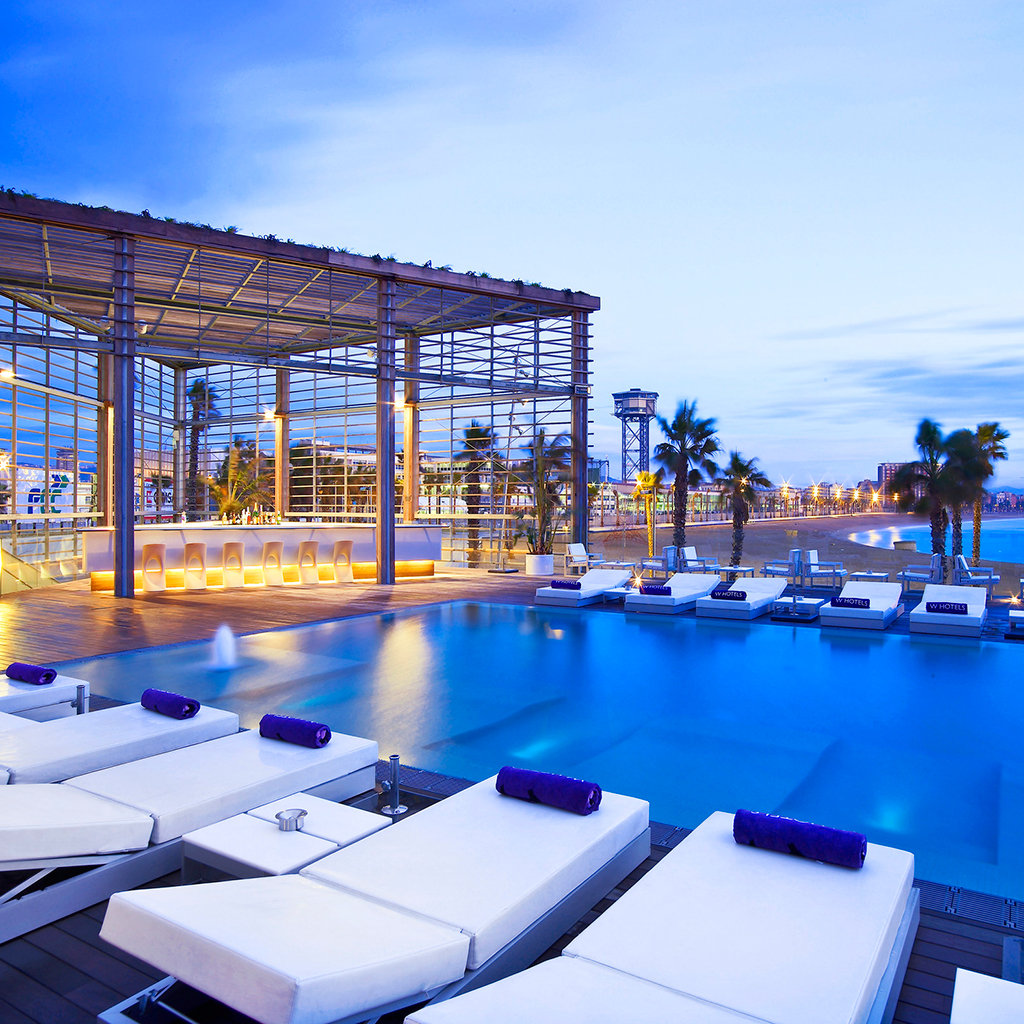 Best luxury hotels in barcelona travel leisure for Luxury beach hotels