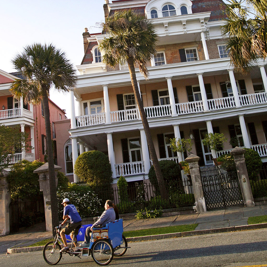Where to Bike in Charleston