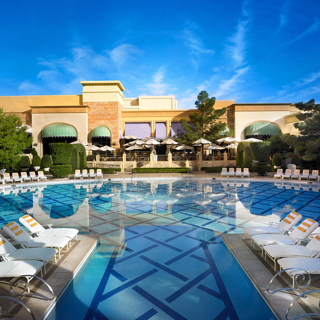 Best pools in las vegas travel leisure Hotels in vegas with indoor swimming pools