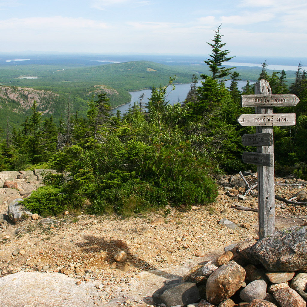 Classic Hiking Trails in Maine