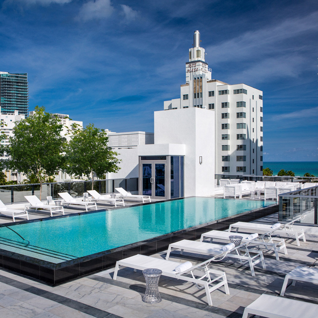 Top boutique hotels in miami travel leisure for Great boutique hotels