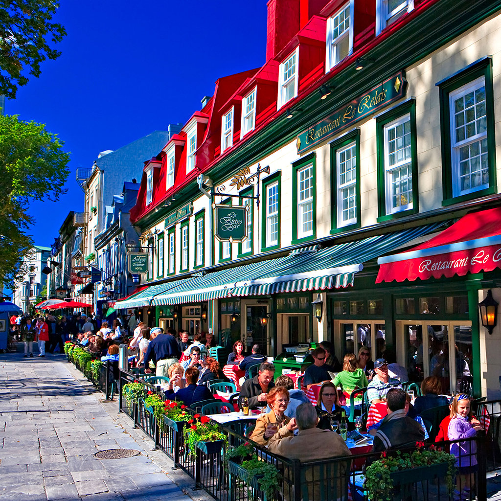 Quebec City Restaurants Family
